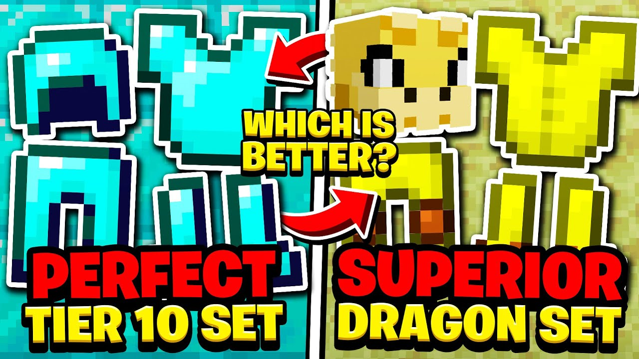 Tier 10 Perfect Armor Vs Superior Dragon Armor Hypixel Skyblock Guide Tips Check out my recent video: tier 10 perfect armor vs superior