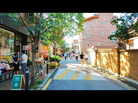 [4K] Walk around the cafe street in Seongsu-dong, Seoul. Walk Korea, Hot place, 성수동 서울숲 카페거리를 걷다.