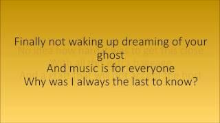 Shine The Smith Street Band lyrics