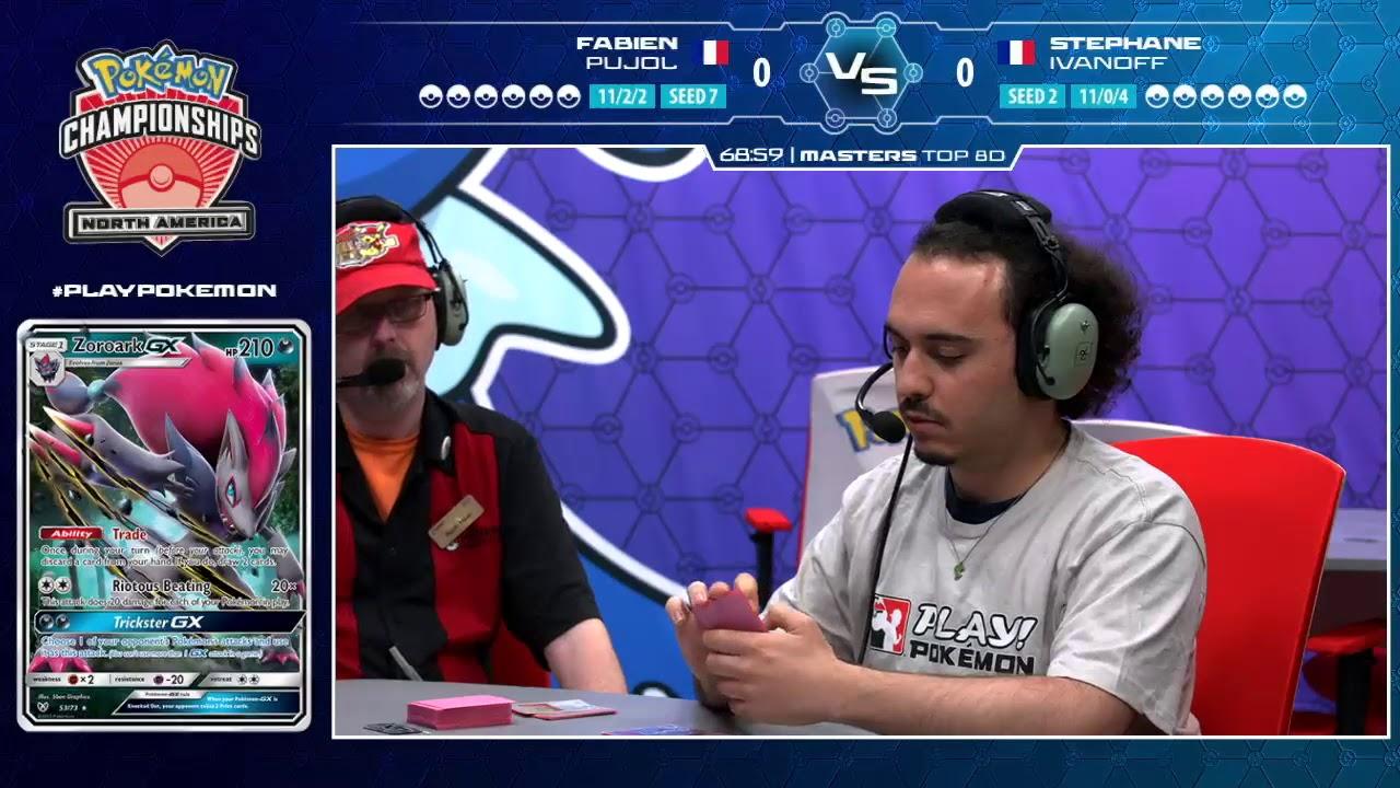2018 Pokémon North America International Championships: TCG Masters Top 8, Match D