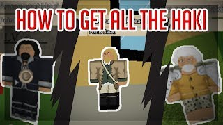 HOW TO GET ALL THE HAKI! | Ro-Piece | ROBLOX