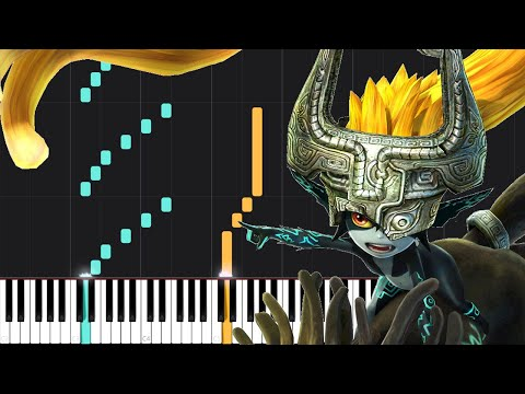 Midna's Lament - The Legend of Zelda: Twilight Princess [Piano Tutorial] (Synthesia) thumbnail