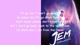 """The Way I Was (From ""Jem and The Holograms"") Lyric Video"