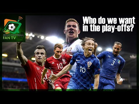 who do we want in the play offs? Denmark? Croatia? Switzerland? Italy?