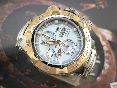 afc9b1e65f6 Relógio Invicta Subaqua Noma 15485 Edição Limitada Suiço - YouTube