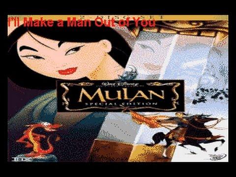 Mulan - I'll Make A Man Out Of You NERD KARAOKE