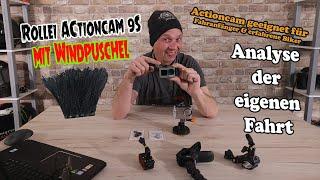 Actioncam Rollei 9S + Windpuschel = Hammer Ergebnis