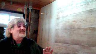 Thisoldnewhouse_old Hard Wood Fir Plank Walls In The Master Bath 0:00:07-03