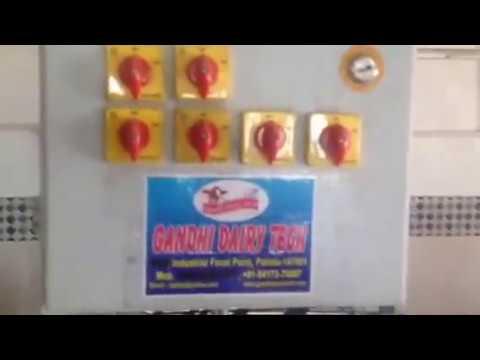 Mini milk processing plant cap 2000 ltr per day