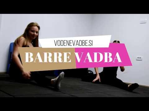 Preizkusi se v barre vadbi kar doma - brez baletnega droga