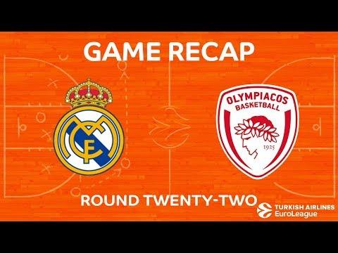 Highlights: Real Madrid - Olympiacos Piraeus