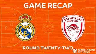 Highlights: Real Madrid - Olympiacos Piraeus