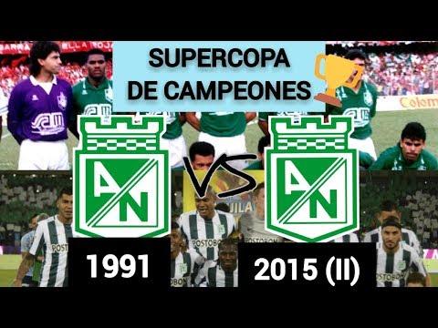 SUPERCOPA DE CAMPEONES: NACIONAL 1991 VS NACIONAL 2015 (II) - CON HINCHAS!!! OCTAVOS DE FINAL