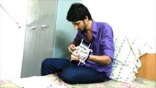 guitar cover of teri yaadein by shubham chaturvedi.....