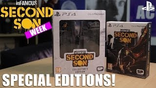 inFAMOUS: Second Son on PS4 - Special Editions Unboxing!
