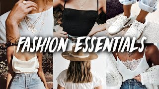 2019 SPRING & SUMMER BASIC FASHION TRENDS & WARDROBE ESSENTIALS