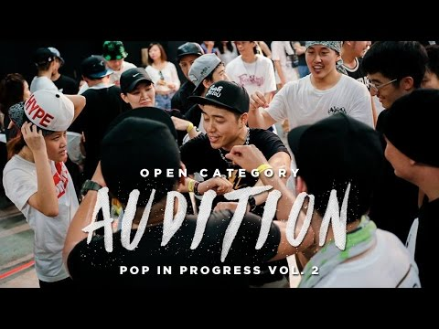 Open Category Audition | Pop In Progress 2016 Chapter 2 | RPProductions