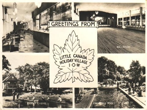 Little Canada Holiday Village  - 1955 Brochure  - Isle Of Wight
