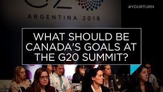 What should be Canada's goals at the G20 Summit? | Outburst
