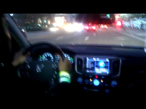 Driving the 2012 Hyundai Equus Ultimate in the streets of Downtown Los Angeles