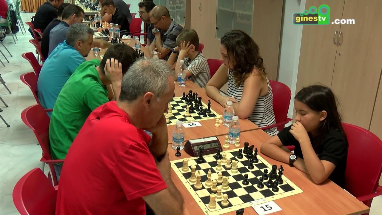 El regreso del Abierto de Ajedrez de Gines contó con la participación de más de 100 jugadores