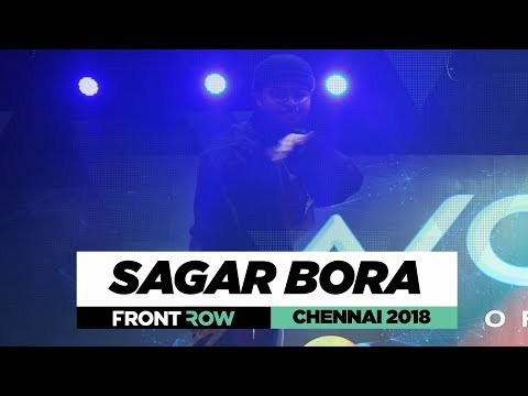 Sagar Bora | FrontRow | World of Dance Chennai 2018 | #WODCHENNAI18