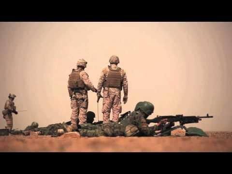 ANA shoots M240 M249 the Marine Corps way!