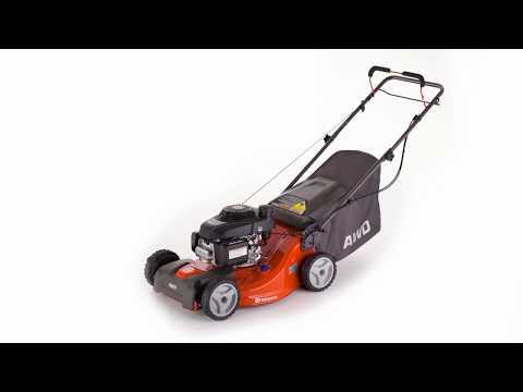 Husqvarna 21-in Self-propelled Gas Lawn Mower w/ Honda Engine