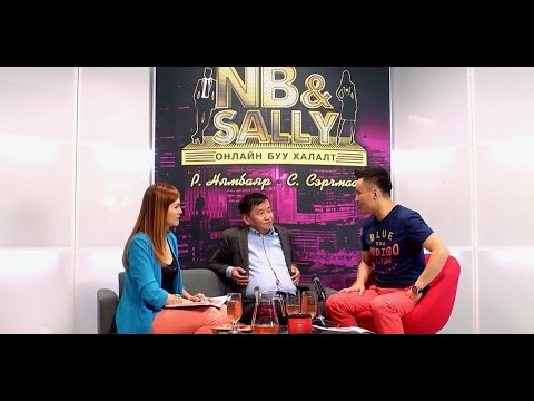 NB & SALLY with Baatarkhuu.