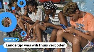 Mensen in Cuba mogen nu pas thuis wifi hebben