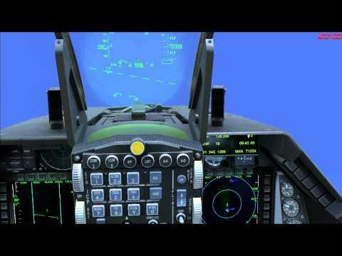 محاكي الطيران اكس طائرة اف 16 | Microsoft Flight Simulator X F16