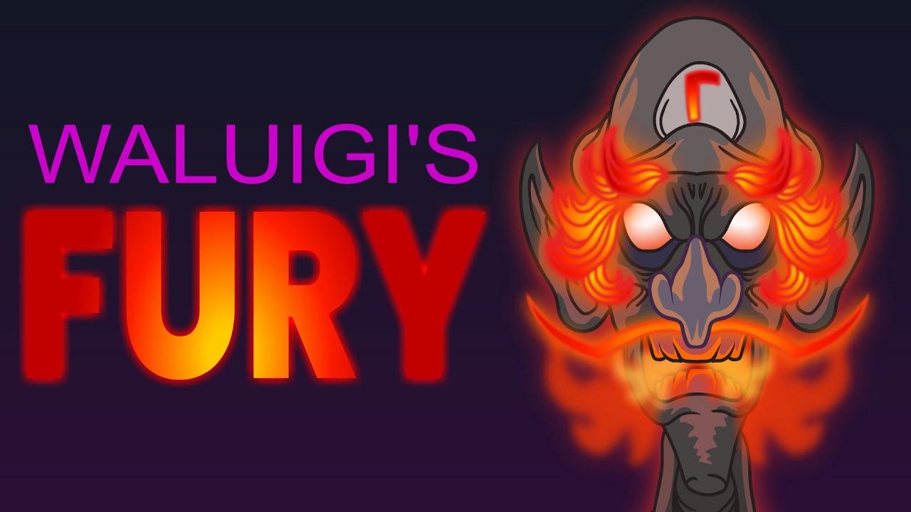 Waluigi's Fury #Shorts