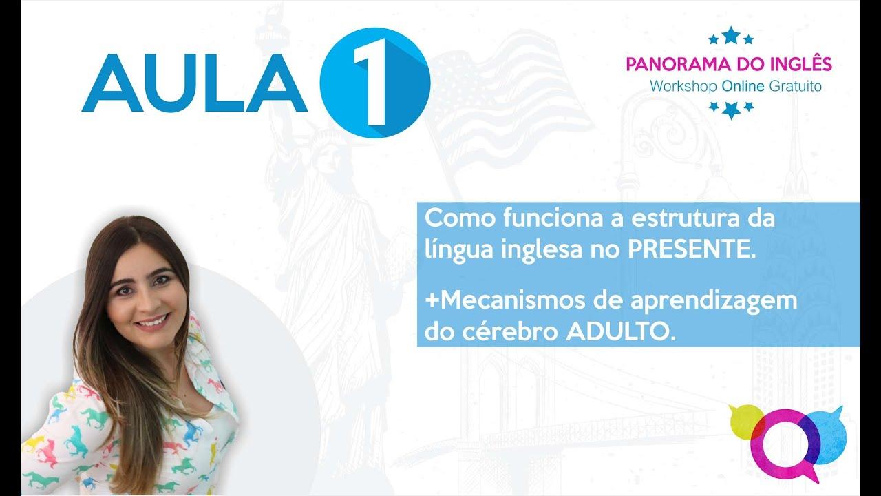WORKSHOP AULA 1 - PANORAMA DO INGLÊS