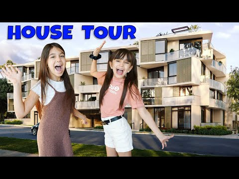 NEW OFFICIAL HOUSE TOUR! *FINALLY* | Emily and Evelyn