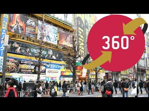 360video Akihabara Tokyo - 秋葉原No2 - Japan Travel