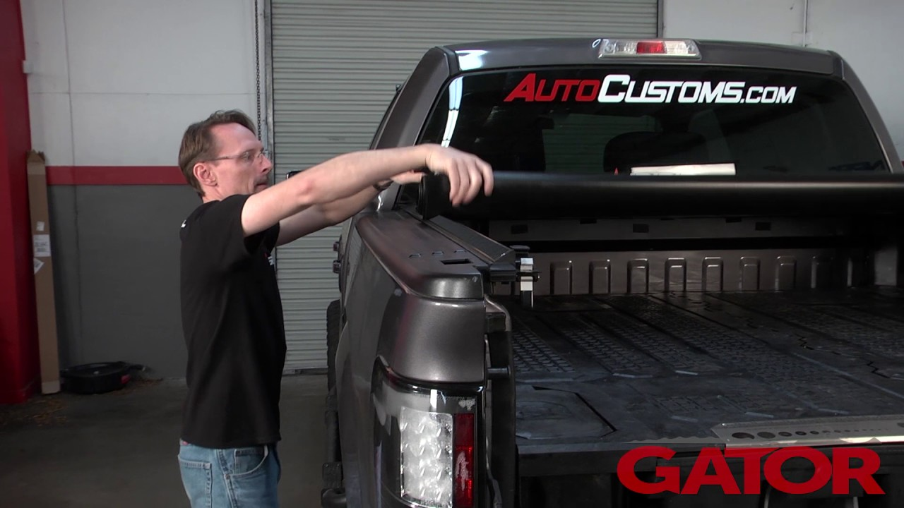 Gator Roll Up Tonneau Cover Product Review Youtube