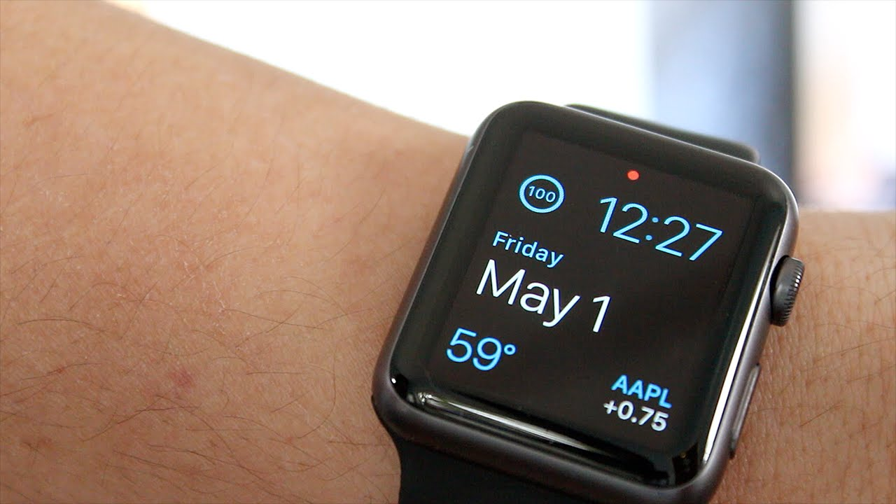 Unboxing: Apple Watch Sport 42mm Space Gray with Black ...