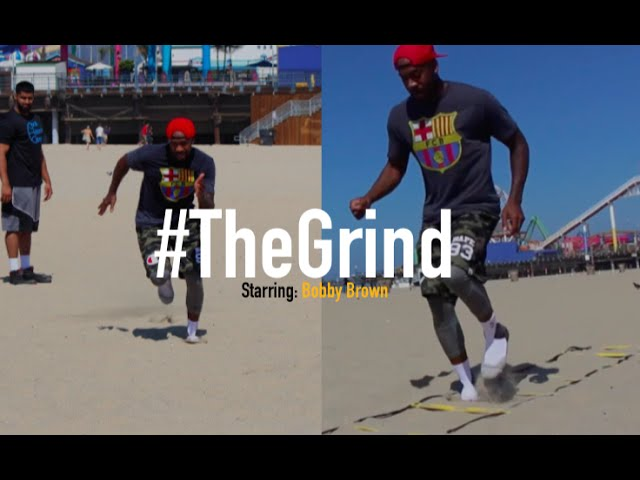 #TheGrind - Bobby Brown Prepares For Houston Rockets Training Camp