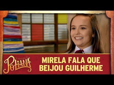 Mirela fala para Raquel que beijou Guilherme | As Aventuras de Poliana