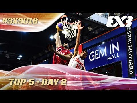 Top 5 Plays - Day 2 | FIBA 3x3 U18 Asia Cup