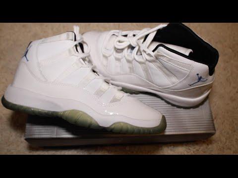 Nike Air Jordan XI/11 Columbia GS 2001
