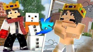 Minecraft Machinima: RICO VS POBRE NO INVERNO !