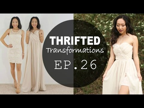 How-to Sew a Prom Dress | Thrifted Transformations Ep. 26