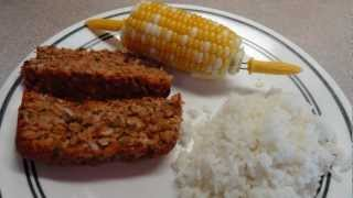 "Vegetarian  Mock ""meatloaf"" (with Lentils)"