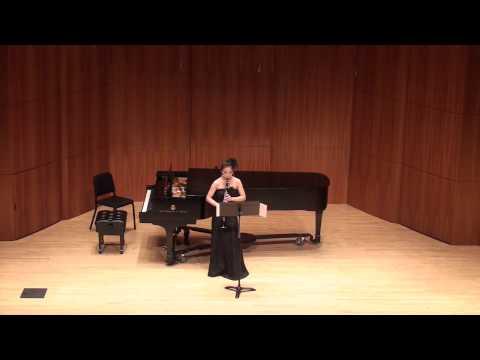 Emma Yun-chieh Hsieh's Senior Recital (1/2)