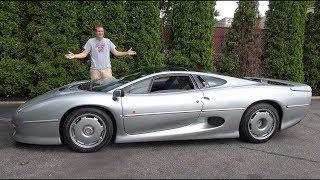 Вот почему Jaguar XJ220 - это безумнейший суперкар 90-х