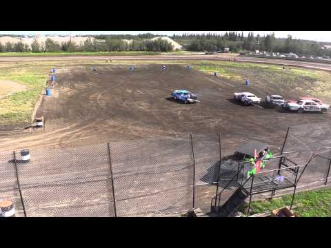2015 Fairbanks Demolition Derby - Heat 2