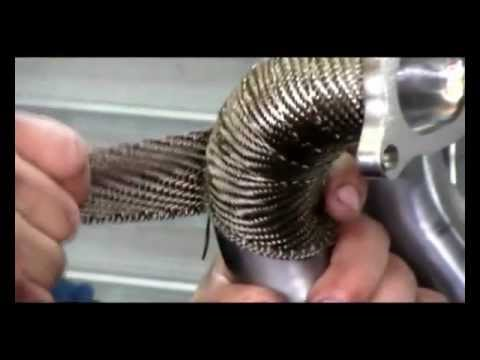 Exhaust Heat Wrap >> How to: Exhaust Wrapping - YouTube