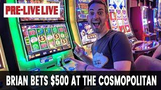 🔴 Pre-Live LIVE 🎰 Cosmopolitan Las Vegas
