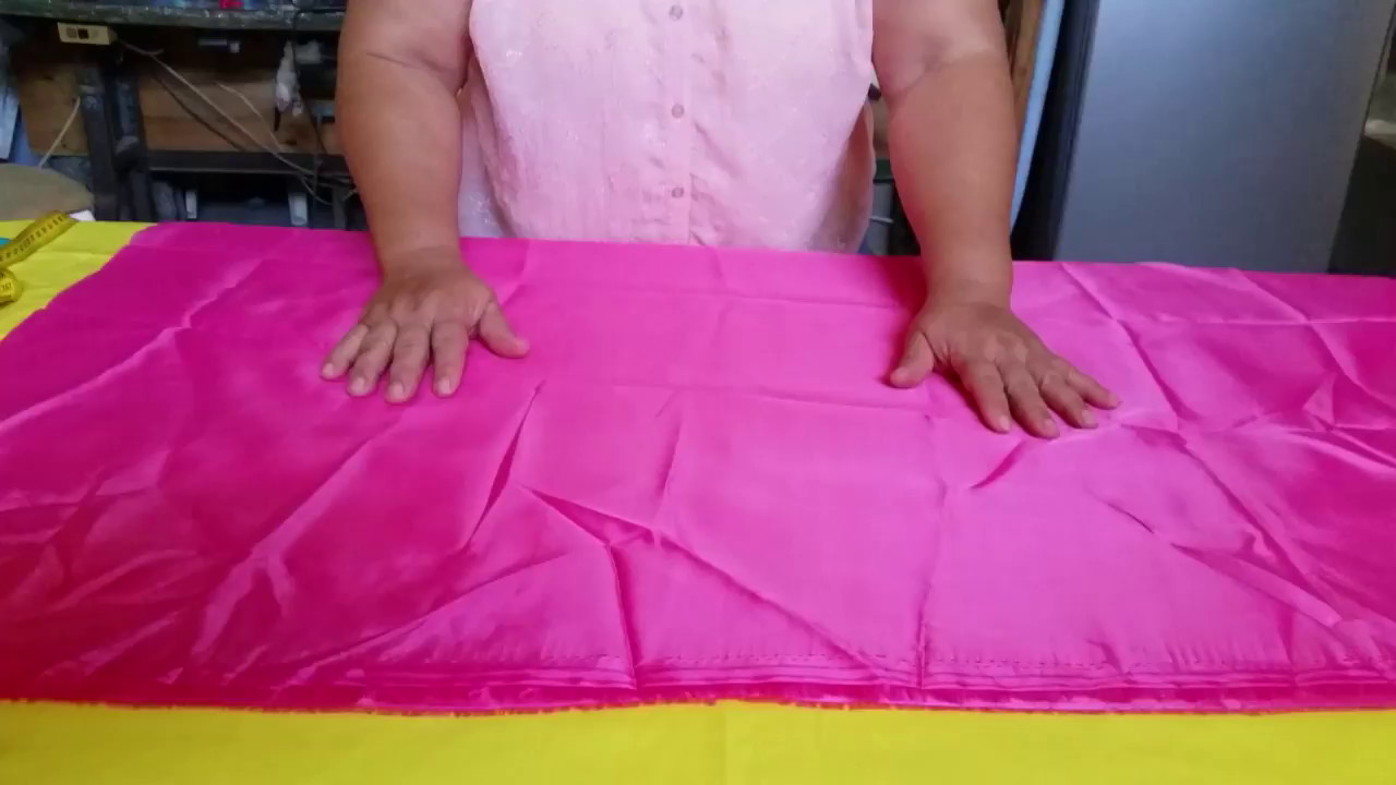 Corte de una Arandela Circular para falda o vestido - YouTube